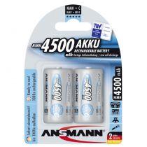 Revenda Pilhas Recarregáveis - Pilhas 6x2 Ansmann maxE NiMH bat. Baby C 4500 mAh          5035352