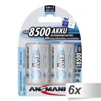 Revenda Pilhas Recarregáveis - Pilhas 6x2 Ansmann maxE NiMH bat. Mono D 8500 mAh          5035362