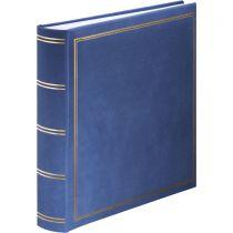 Revenda Arquivos Fotografia - Album Foto Hama Jumbo-Album London    30x30 80 Páginas brancas, azul
