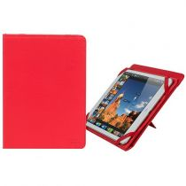 Revenda Outros Acessórios - RIVACASE 3217 red kick-stand tablet folio 10.1