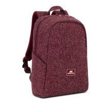 Revenda Bolsas e Malas Portatil - Bolsa portátil RIVACASE 7923 burgundy red Laptop mochila 13.3