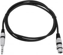 Comprar Cabos e Adaptadores - Omnitronic AdapterCable 2,0 m XLR(F)/6,3mm Klinke preto