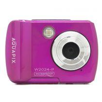 Revenda Camaras Digitais Easypix - Câmara digital Easypix Aquapix W2024 Splash pink