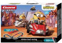 Revenda Pistas e circuitos eléctricos - Pista carros Carrera GO!!! PLUS Minions - Kart Racing   20063507