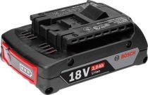 Revenda Baterias Ferramentas - Bateria Bosch Li-ion 18 V/2,0 Ah M-A black