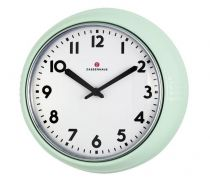 Revenda Relógios Parede - Zassenhaus Relógio Parede Retro Mintverde