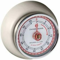 Revenda Relógios Parede - Zassenhaus Timer Speed Creme
