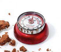 Revenda Relógios Parede - Zassenhaus Timer Speed Metallic Red