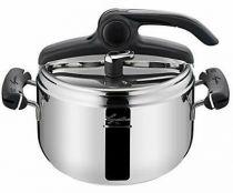 Revenda Panelas e Frigideiras - Lagostina Pressure Cooker Preziosa, 22 cm, 5 L