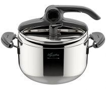 Revenda Panelas e Frigideiras - Lagostina Pressure Cooker Mia, 22 cm, 5 L