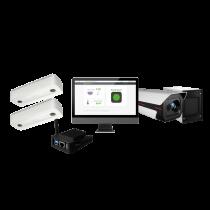 Revenda Controlo Acessos - Safire Kit Controlo lotação tudo em 1 Multilocais e Medição de tempera