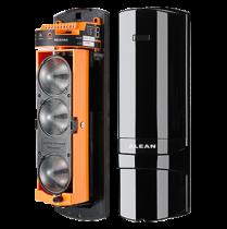 Comprar Detectores/Sensores de perigo - Barreira infra vermelha triplo feixe exterior com cabo 450 m (interior