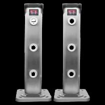 Revenda Detectores/Sensores de perigo - Kit barreira laser (emissor/receptor)  3 feixes exterior IP67 com cabo