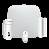 Revenda Alarmes Casa e Escritório - Ajax Alarme profissional sem fio quádruplo via LAN/Wi-Fi/ 4G Dual SIM