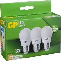 Revenda Lâmpadas LED - 1x3 GP Lighting A45 Mini Globe E27, 5,6W (40W) 470lm GP 087885