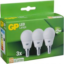 Revenda Lâmpadas LED - 1x3 GP Lighting A45 Mini Globe E14, 5,6W (40W) 470lm GP 087854