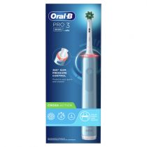 Revenda Higiene Dentária - ESCOVA DENTES Oral-B PRO 3 3000 Cross Action Blue