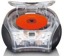 Comprar Rádio Cassette / CD - Radio CD Lenco SCD-24 transparent