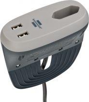 Revenda Adaptadores de Rede - Brennenstuhl Sofa Socket + USB charging function