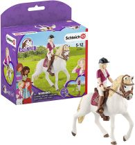 Revenda Figuras Animais - Schleich Horse Club        42540 Sofia & Blossom