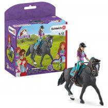 Revenda Figuras Animais - Schleich Horse Club        42541 Lisa & Storm