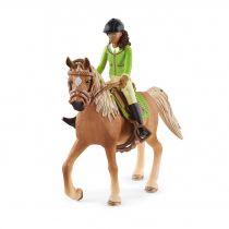 Revenda Figuras Animais - Schleich Horse Club        42542 Sarah & Mystery