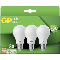 Revenda Lâmpadas LED - 1x3 GP Lighting LED Classic E27 5,4W                   GP 087670