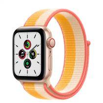 Revenda Smartwatch - Smartwatch Apple Watch SE GPS + Cell 40mm Gold Alu Maize/White Sport L