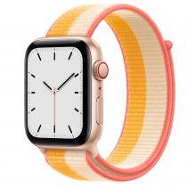 Revenda Smartwatch - Smartwatch Apple Watch SE GPS + Cell 44mm Gold Alu Maize/White Sport L