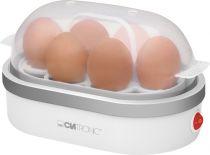 Revenda Máquinas de cozer ovos - Máquina Cozer Ovos Clatronic EK 3497 Branco/silver | 6 Ovos/eggs | 400