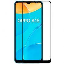 Comprar Smartphones Oppo / Oneplus - Protetor Ecrã Vidro Temperado Oppo A15 / A15s (FULL 3D Preto)