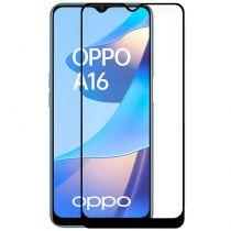 Comprar Smartphones Oppo / Oneplus - Protetor Ecrã Vidro Temperado OPPO A16 (FULL 3D Preto)