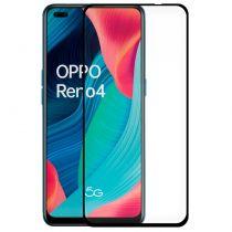 Comprar Smartphones Oppo / Oneplus - Protetor Ecrã Vidro Temperado Oppo Reno 4 (FULL 3D Preto)