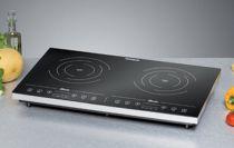 Revenda Placas eléctricas - Rommelsbacher Placa indução dupla CT 3410/IN preto/silver | 3.400W | F