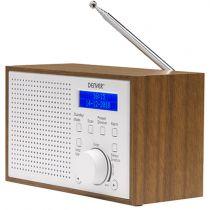 Comprar Rádios / Recetores Mundiais - Radio Denver DAB-46 white