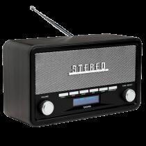 Comprar Rádios / Recetores Mundiais - Radio Denver DAB-18 dark grey