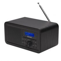 Comprar Rádios / Recetores Mundiais - Radio Denver DAB-30 black