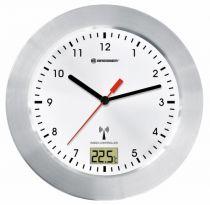 Revenda Relógios Parede - Bresser MyTime Bath white radio controlled Bathroom Clock