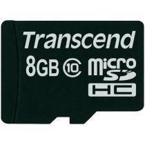 Revenda Micro SD / TransFlash - Transcend MicroSD 8GB HC Cartão Memória