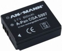 Batterie per Panasonic - Batteria Compatibile Panasonic CGA S 007