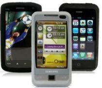 Comprar Bolsas - Bolsa Silicone Preta para Sony Ericsson Satio