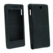 Comprar Bolsas - Bolsa Silicone HTC Touch Diamond 2 Preto