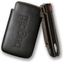 Bolsas - Bolsa Pele Bugatti para HTC Touch2 T3333