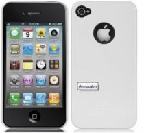Bolsas Transporte iPhone - Bolsa Barely There Glossy Branco para iPhone 4 CM012044