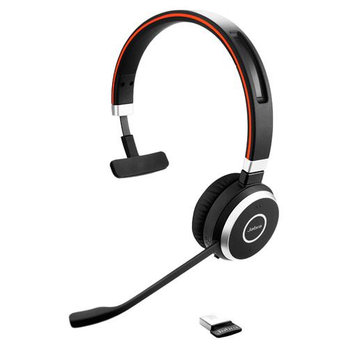 Revenda Auriculares - Auricular Jabra EVOLVE 65 Mono usb MS Bluetooth
