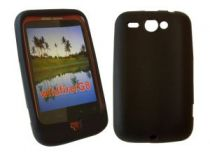 Bolsas - Bolsa Borracha Preta para HTC Wildfire