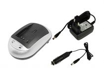 Caricabatterie Videocamere - Caricabatteria Batteria Samsung BP1030 + carreg. da Auto