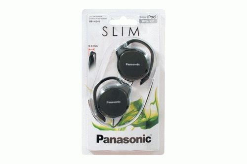 Auscultadores Panasonic RP-HS46 E-K preto para Outdoor