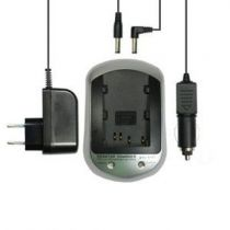 Caricabatterie Sony - Caricabatteria Batteria Sony NP-FM50 / FM70/ FM90  + Car Isq