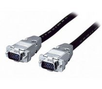 Comprar Cable Video - EQUIP VGA CABLE 3+7 M/M HD15,BLACK,METAL- 3M